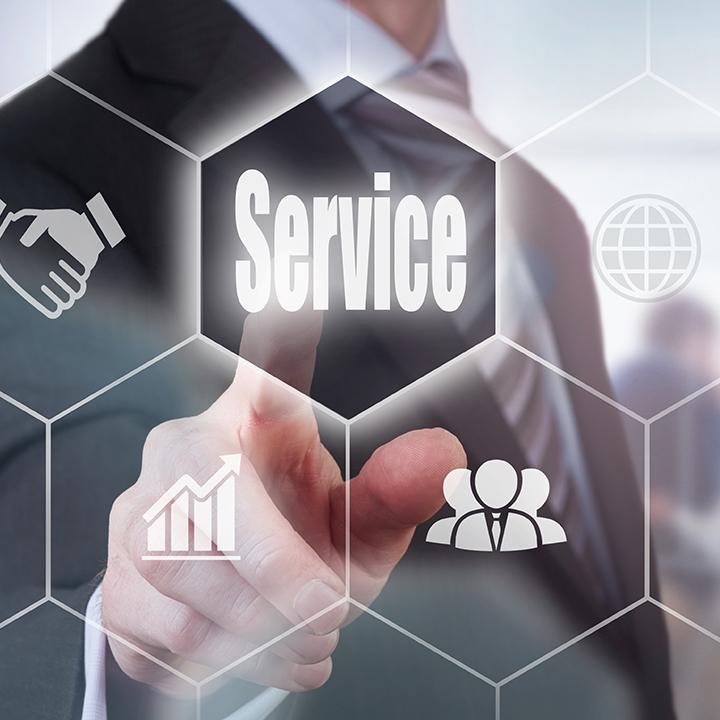 自治体と民間のサービス例